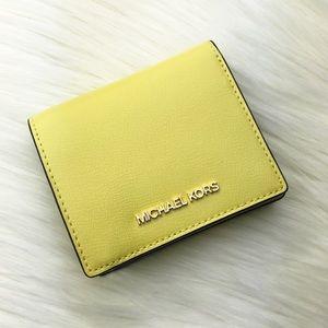Michael Kors Sunshine Carryall Card Case Wallet